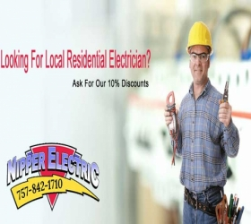 local residential electrican banner - Nipper Electric