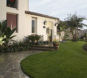 Simple Exterior Landscaping