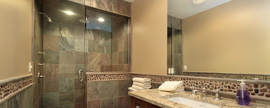 Luxury Master Bath With Walk In Shower