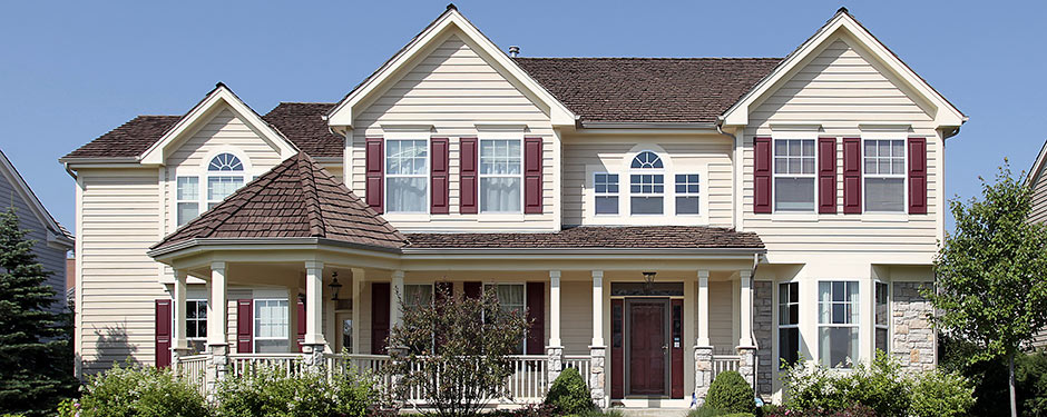 House siding options change how your house looks for Siding and shutter combinations
