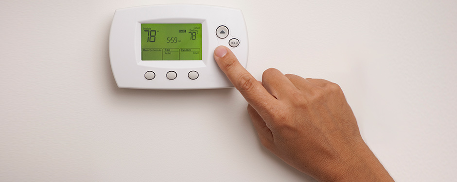 Increasing air conditioning/heating on thermostat
