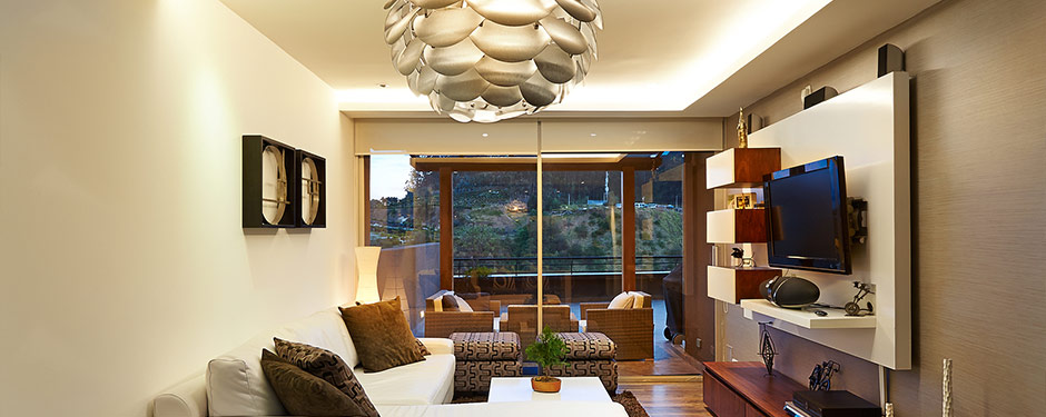 lighting of modern living room