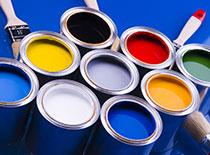 color assortment of exterior paint