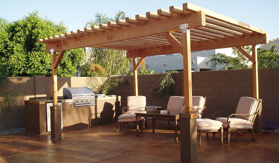 Backyard Awning Design : Backyard Patio Ideas  Trusted Home Contractors