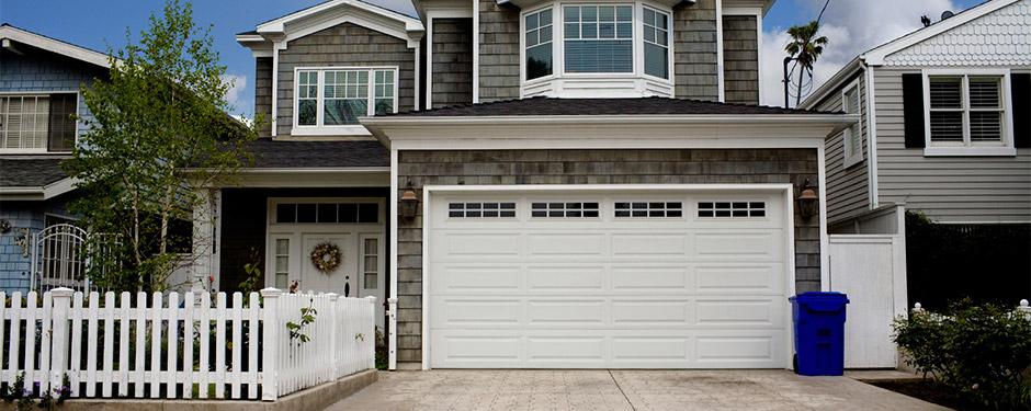 Delicieux ... New Garage Door On Beach House ...